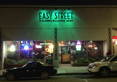 Easy Street Billiards (front view)